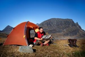 odpowiedni namiot