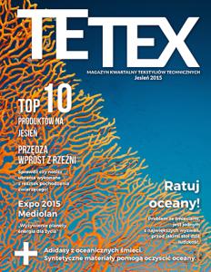 Europejski magazyn tekstyliów technicznych JESIEŃ 2015