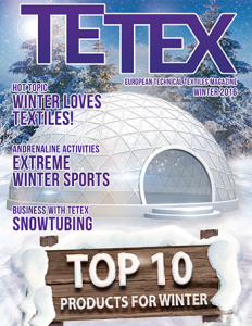 Quarterly technical textiles magazine Winter 2016