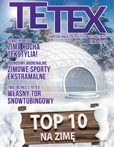 Europejski magazyn tekstyliów technicznych ZIMA 2016