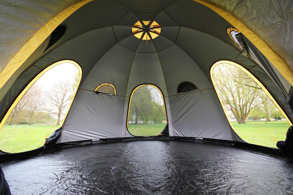 POD Tent Interior