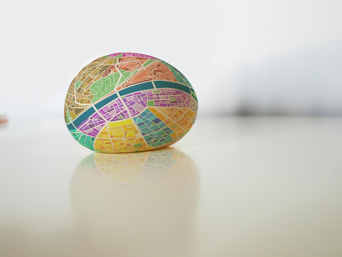 piłka mapa