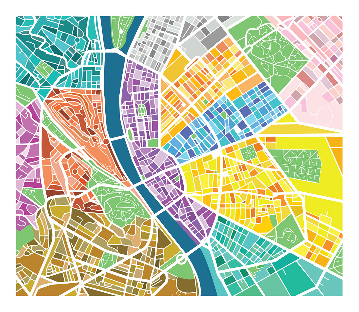 mapa miasta