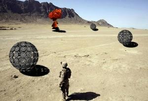 Wykrywacz min napędzany wiatrem