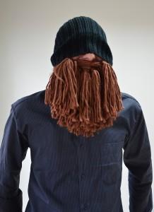 Czapka z brodą wikinga