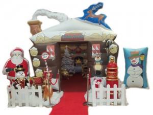 Grota Świętego Mikołaja - dmuchana