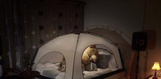 Namiot nad łóżko