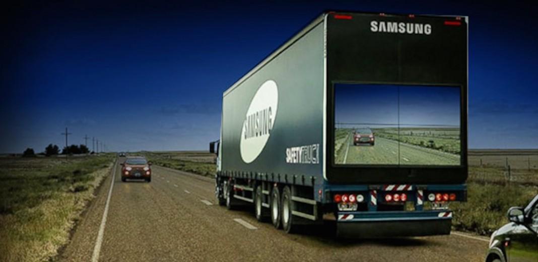 Samsung's Safety Truck
