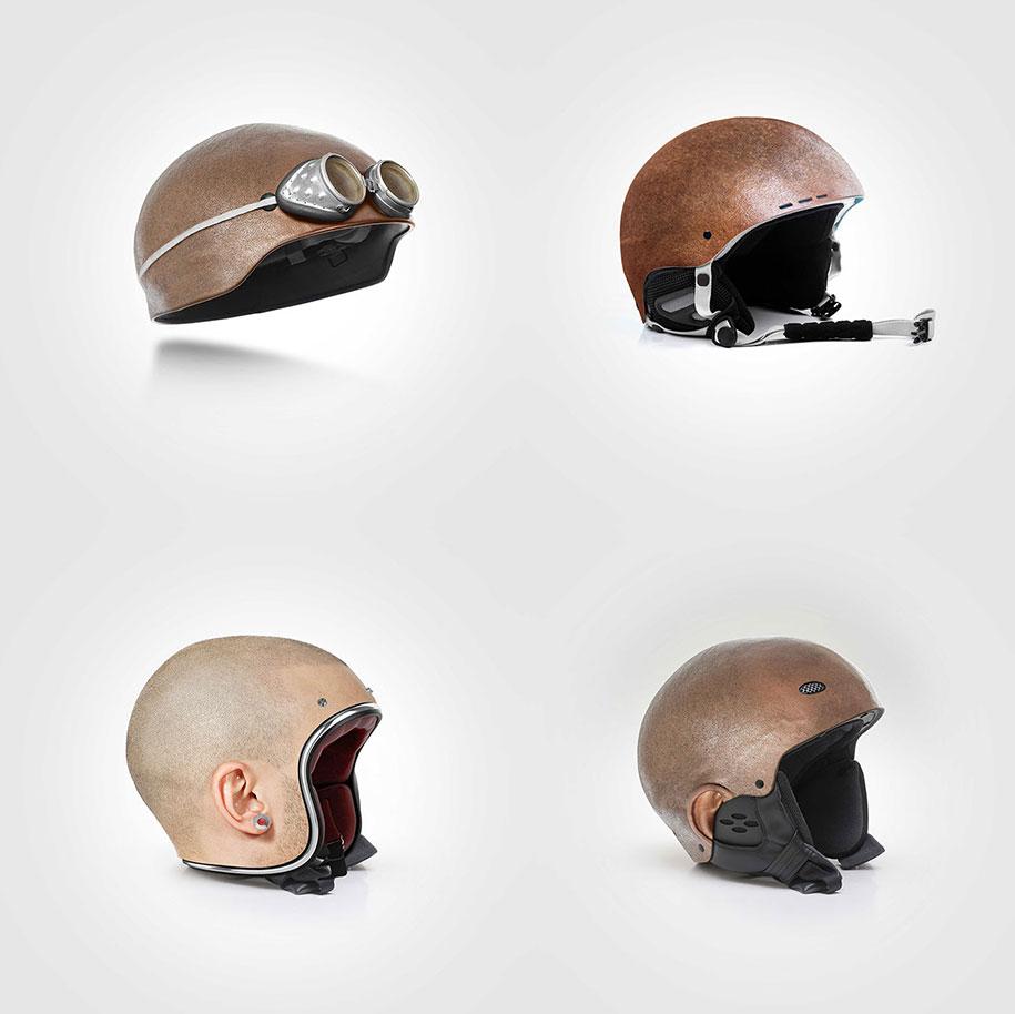 Ski Helmets That Look Like Your Head