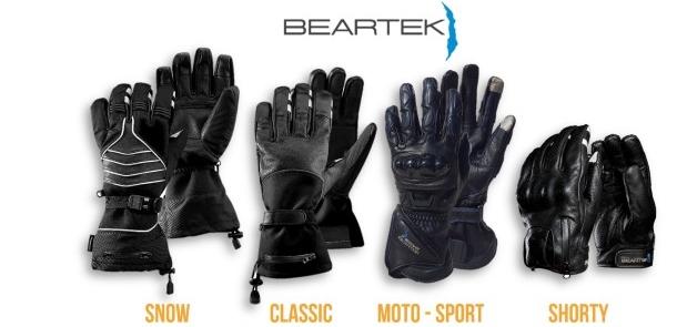 Inteligentne rękawiczki motocyklowe