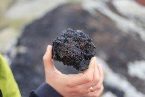 Aramid Fiber - airborne volcanic fragments