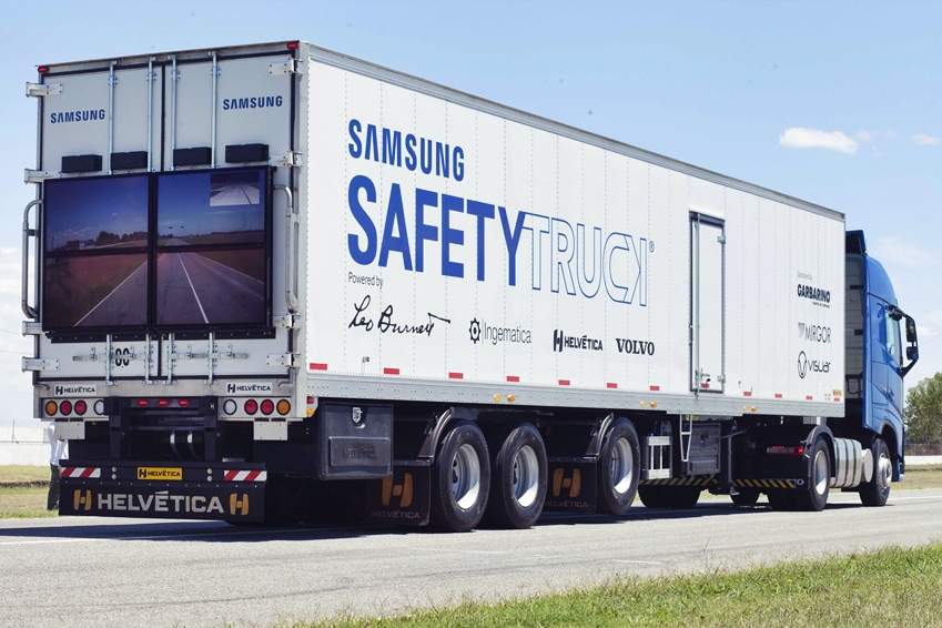 samsung safety truck prototype