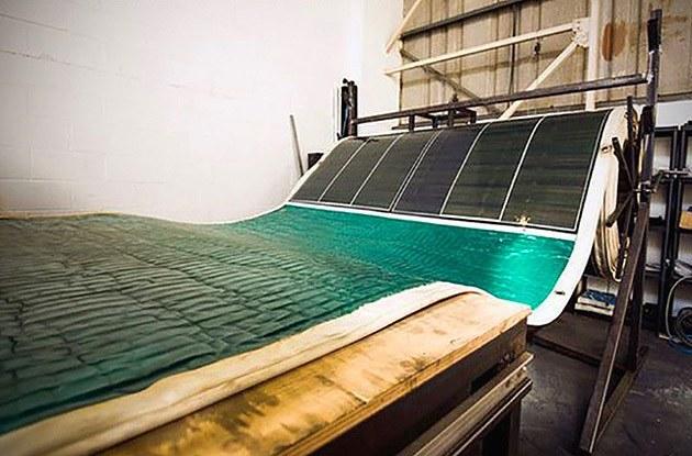 Roll-Array Solar Carpet