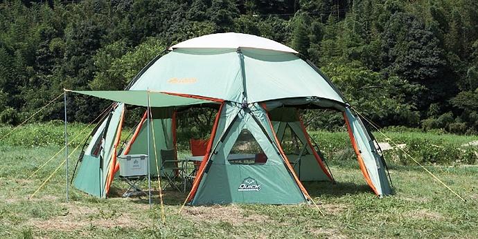 Modułowy namiot - część środkowa