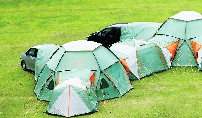 Modułowy namiot