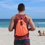 Theft-Proof Drawstring Backpack