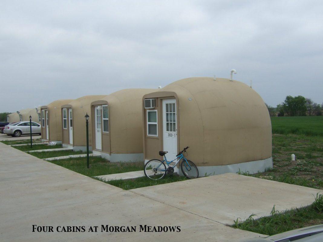 betonowy namiot