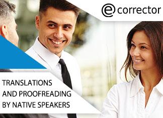 tłumaczenia i korekty native speakerów