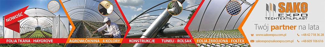 Największa w Polsce firma działająca w branży tekstyliów technicznych