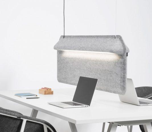 lampa pochłaniająca dźwięk