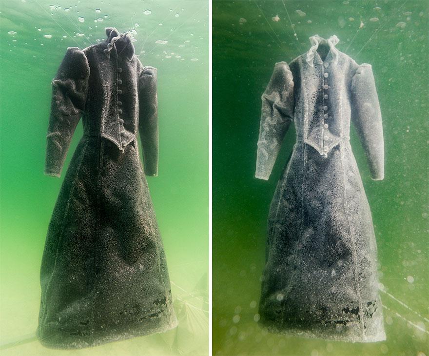 zatopiona sukienka - Landau