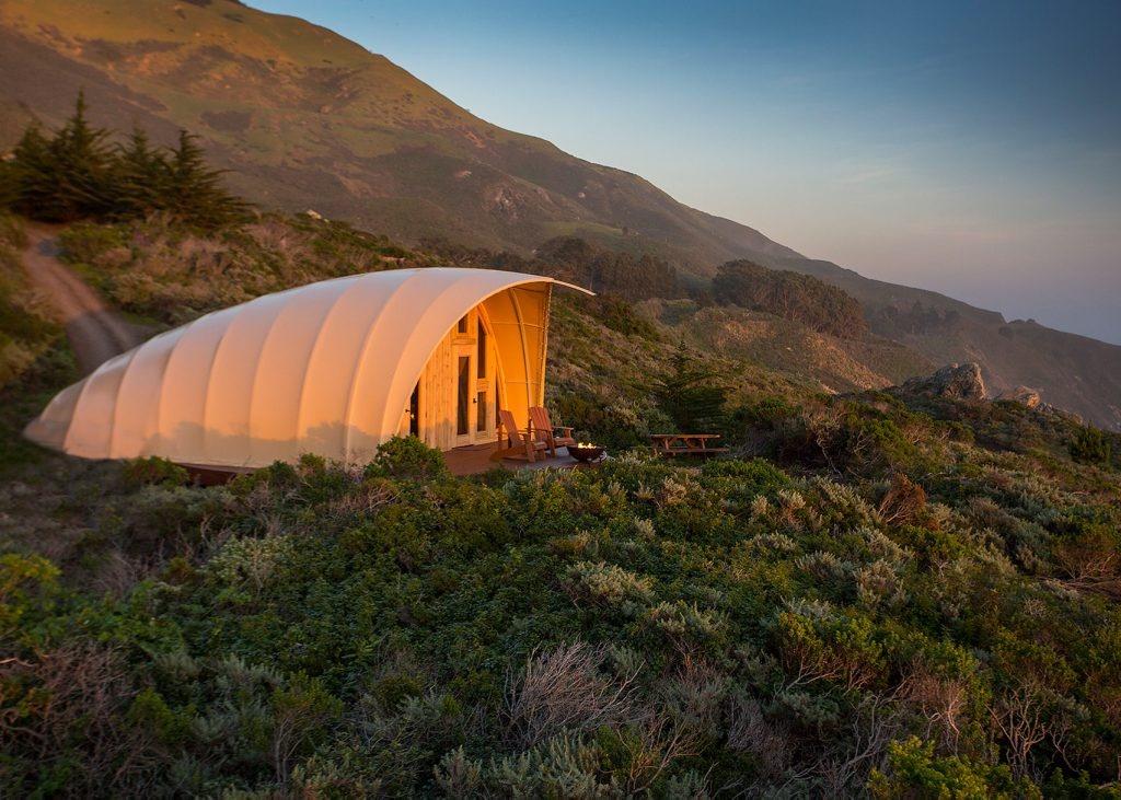 luksusowy namiot