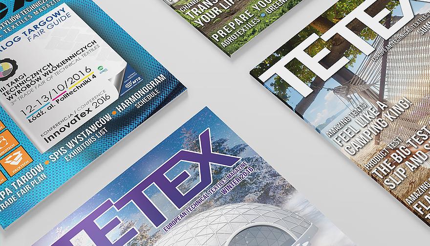 kwartalnik Tetex , wydawany w j. polskim i angielskim