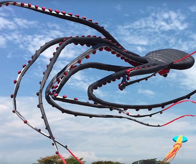 gigantyczne latawce