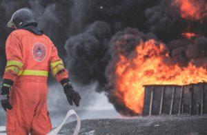 strażak - kombinezon bojowy