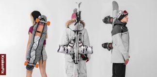 szelki do noszenia nart