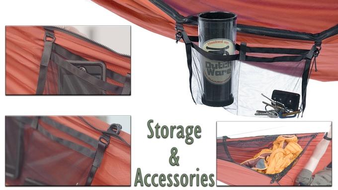 hamak i namiot w jednym