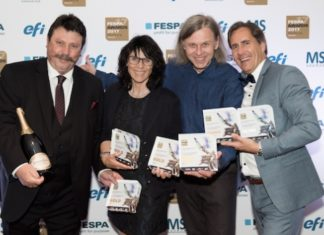 Six prizes at the FESPA Awards 2017 went to Switzerland's Atelier für Siebdruck Lorenz Boegli for its screenprinted entries.