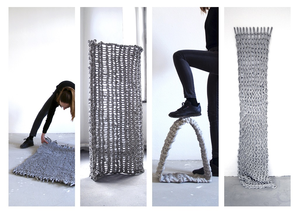 First place composites and hybrid structures: concrete textile / Anne-Kathrin Kühner