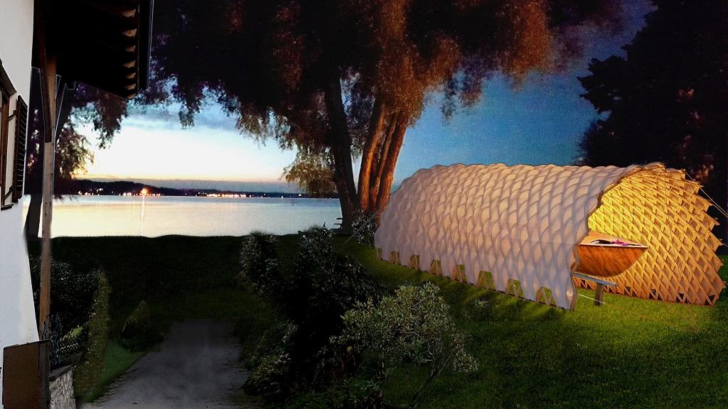 First prize macro-architecture: 'Deployable Roof'/ Katrin Fleischer, Technical University of Munich