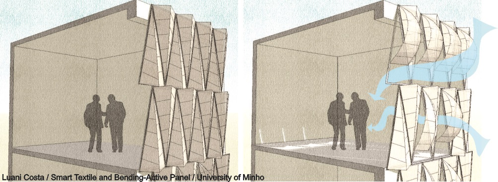First prize micro-architecture: smart façade element / Luani Costa, University of Minho (Portugal)