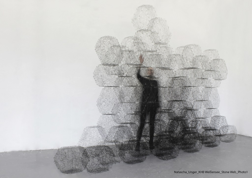 First prize material innovation: 'Stone Web' / Natascha Unger, Idalene Rapp, Berlin-Weissensee Academy of Arts