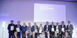 Dirk Wiese (right), Techtextil & Texprocess Innovationspreise 2017