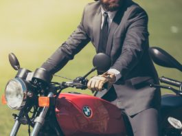 kask ochronny - BMW