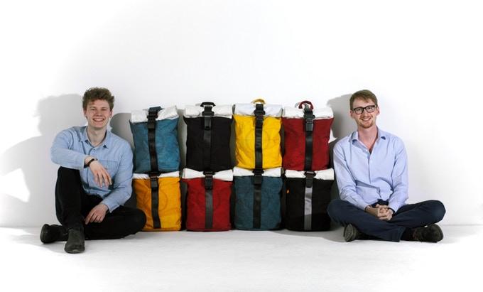 plecak z poduszki powietrznej