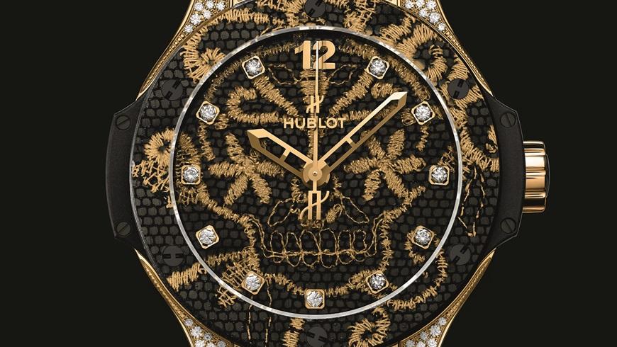 złota nić - zegarek
