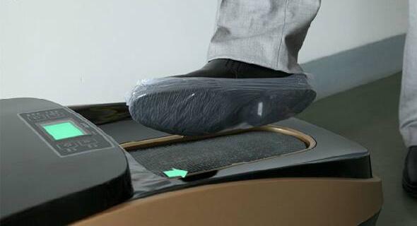 Automat do foliowania butów