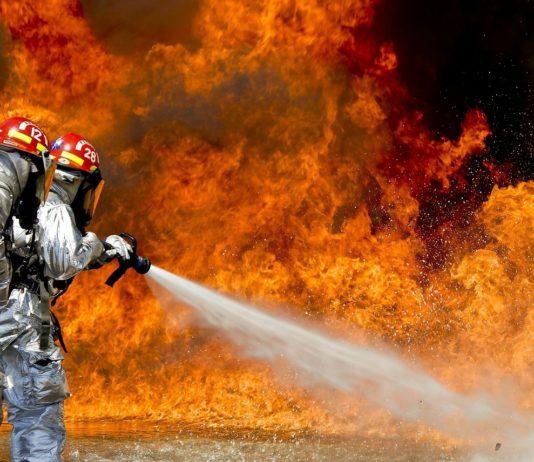 kamizelka chłodząca dla strażaków