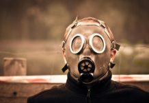 gaz paraliżujący - tekstylia