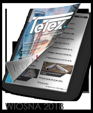 Tetex Magazine WIOSNA 2018 - Europejski magazyn tekstyliów technicznych