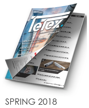 Tetex Magazine SPRING 2018 - European technical textiles magazine