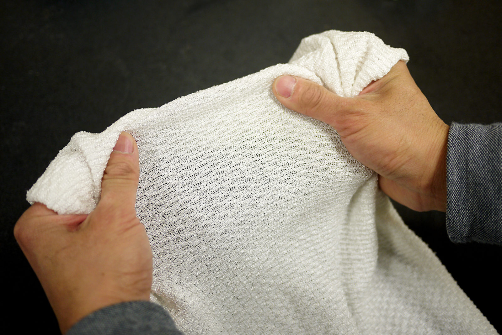 cool or insulate fabric